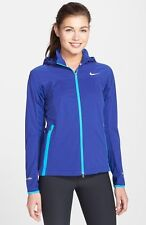 NIKE SHEILD LIGHT TRAINING JACKET ROYAL BLUE 645639-455 WOMENS SIZE SMALL