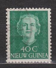 Indonesia Nederlands Nieuw New Guinea 14 used 1950 Juliana