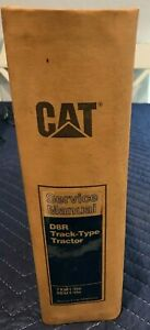 CATERPILLAR D8R TRACK-TYPE TRACTOR SERVICE MANUAL 7XM1-UP, 9EM1-UP