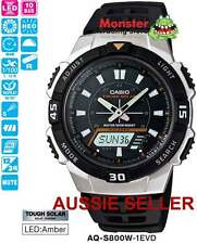 AUSSIE SELLER CASIO TOUGH SOLAR AQ-S800W-1EVD AQS800 AQS800W 12-MONTH WARANTY