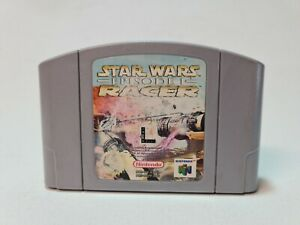 STAR WARS EPISODE I: RACER   NINTENDO 64   N64   PAL   LOT 2   CART ONLY