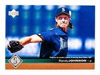 Randy Johnson #501 (1997 Upper Deck) Baseball Card, Seattle Mariners, HOF