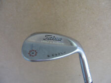 TITLEIST VOKEY TVD SPIN MILLED 60 LOB WEDGE M CC CUSTOM A NOBLE TOUR ISSUE STIFF