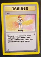 Lass 75/102 - Base Set - Rare Pokemon Card WOTC See Pictures for Condition