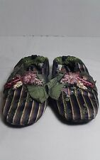 Goody Slippers Child's Large Silk & Velvet
