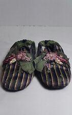 Goody Goody Slippers Child's Large Silk & Velvet