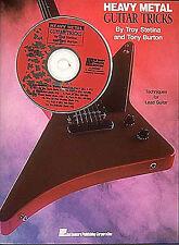 Heavy Metal Guitar Tricks Guitar Tab (with Chord Symbols) Sheet Music Instrument