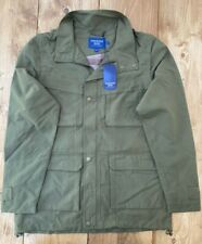 Premier Man Khaki Green Jacket/Coat With Zip-Off Removeable Sleeves- Small 36/38
