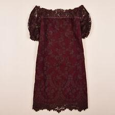 Twin-Set Damen Kleid Dress Gr.S (DE 36) Simona Barbieri T2A3NN Rottöne 76999