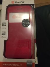iphone 6 case Window Book Case (red)