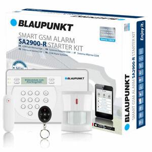 Blaupunkt Funk Alarmanlage Set SA-Serie SA2900R GSM Zentrale + Zubehör UVP 399€