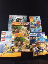 LOT OF 9 ASSORTED LEGO INSTRUCTION MANUALS BOOKLETS