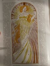 ART ET DECORATION de 1902 : Art Nouveau MUCHA LALIQUE CHéRET MARTIN etc ...