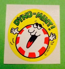 Vintage 80s TREND Scratch-N-Sniff Stinky Sticker DYNO-MINT Peppermint Scent RARE