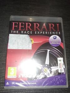 Ferrari The Race Experience (PlayStation 3, PS3) New/Sealed