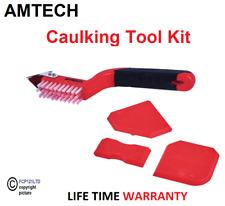 Amtech 4pc Stemmhammer Abbruch Fugen Entferner Dichtmasse Silikon Finishing Reinigung Werkzeug Set