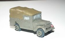 WWII BRITISH Army TILLY TRUCK Built & Painted - 1/72 Scale - 46681