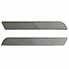 Pair of Clear Reflectors for Harley Touring Saddlebags Latches Cover 1997-2013