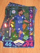 Topps Premier League Leicester City Football Trading Cards