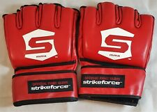 Strikeforce Gloves GREAT FOR AUTOGRAPHS XXXL 3XL *BRAND NEW* MMA Unsigned RED