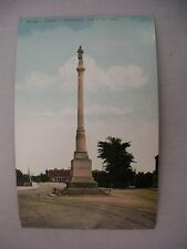 VINTAGE POSTCARD OF THE SOLDIER'S MONUMENT IN DAYTON, OHIO 1908
