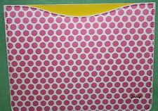 Juicy Couture IPad Sleeve NEW Pink White dot Retail 48 Polka Dot 3rd gen