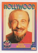 1991 Starline Hollywood Walk of Fame Mitch Miller