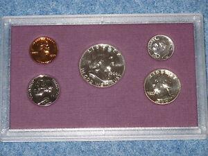1960 Large Date US Silver Proof Set Gem B8518