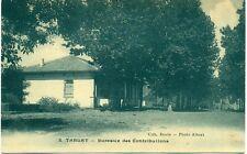 c. 1920s TABLAT, ALGERIA, BUREAUX DES CONTRIBUTIONS POSTCARD