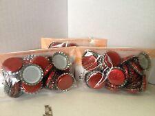 Vinificazione & HOME BREW: 120 x 26MM bottiglie tappi corona in metallo rosso