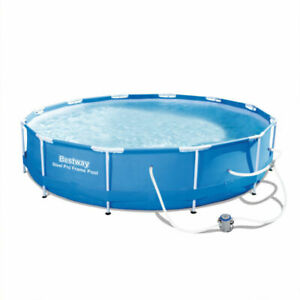 Bestway Above Ground Swimming Pool - Steal Max Pro Frame - with filter pump
