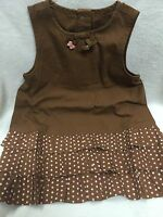 Gymboree NWT - Teeny Weenie Puppy-Dress 3-6 Mo Best Friend Dog Daschund Ruffle