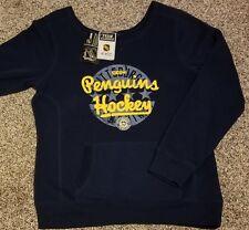 Pittsburgh Penguins Women's Reebok Medium NHL hockey sweatshirt! New w/$57 tags!