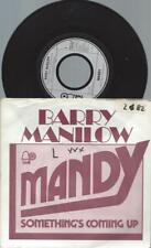 "7""   Barry Manilow ‎– Mandy"