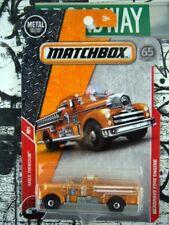 '18 Matchbox Seagrave Feuer Motor NEU in Verpackung