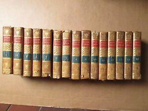 ROLLIN : HISTOIRE ROMAINE, 1782. 15 volumes (sur 16), 13 cartes
