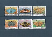 Togo   faune  papillons     de 1999    num: 1688AU/88AZ   oblitéré