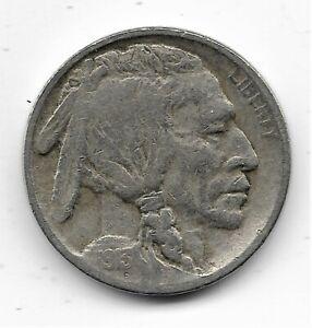 1913-D Buffalo Nickel Type 1 - Fine condition