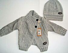 BNWT DIESEL Gorgeous baby girls cardigan + free hat 6 months RRP £69