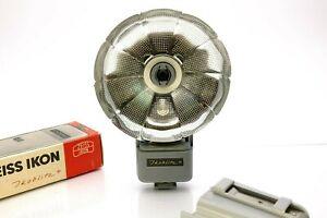 Zeiss Ikoblitz 4 PC Sync Réflecteur Pliable Flash Ampoule Réflecteur