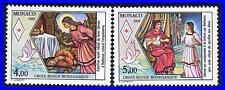 MONACO 1982 RED CROSS/ST.DEVOTE MNH MEDICINE, RELIGION (K-DEC)
