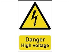 Scan - Danger High Voltage - PVC 200 x 300mm