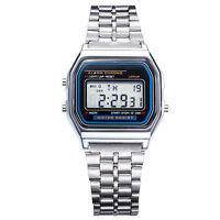 90s 80s LCD Digital Watch Classic Vintage Retro Style F91W-1
