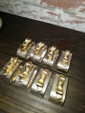 Silverplated With Gold Bow Napkin Ring Set of 12