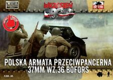 First To Fight - bofors 37mm anti-tank gun with crew - 1:72