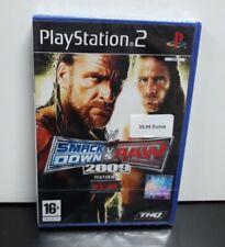 """PS2 PLAYSTATION SMACKDOWN VS RAW 2009 ESPAÑOL  """"NUEVO Y PRECINTADO"""" NEW/SEALED"""