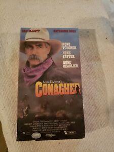 Conagher VHS Turner 1991 Western Sam Elliott Louis L'Amour 😎
