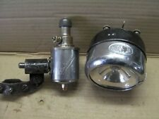 Gruppo-luce RADSONNE, dinamo + fanale a barilotto, per bici d'epoca/storiche.