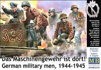 Master Box 35218 1/35 German military men 1944-1945 Das Maschinengewehr ist dort