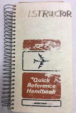 Boeng 707-370C Original  Quick Reference Handbook